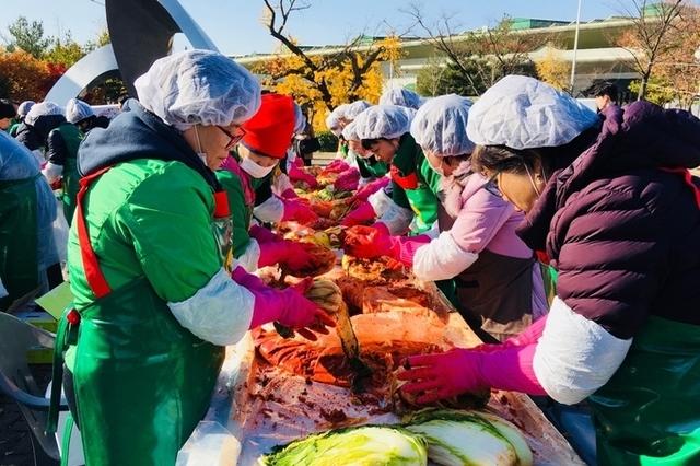 강서농산물도매시장 맛있는 김장 나눔
