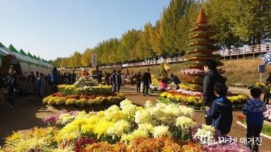 아산시농업기술센터, 10월 26일'제12회 국화전시회'