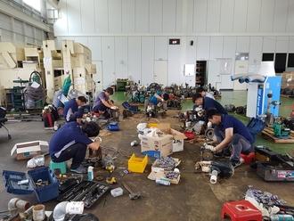 청주시, 집중호우 피해지역 농업기계 수리반 운영