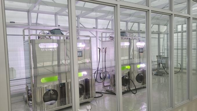 영암군! 농업용클로렐라 미생물배양시스템 구축