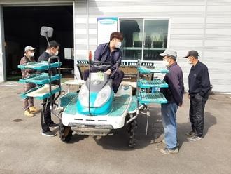 청주시, 수확철 농기계 수리 주말 비상근무 서비스 제공